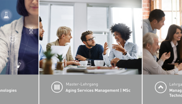 Aging Services Management MSc, Health Services Technologies und Managing Generations and Technological Change