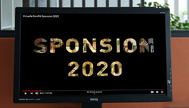 [Translate to English:] Virtuelle Sponsion 2020 der FernFH